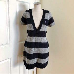 NWT Abercrombie & Fitch Short Sleeve Sweater L